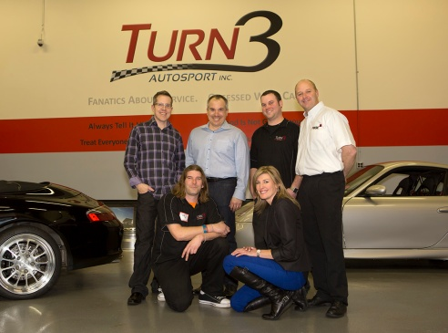 The Turn3 Team with Daryle from Kodiak/FIKSE