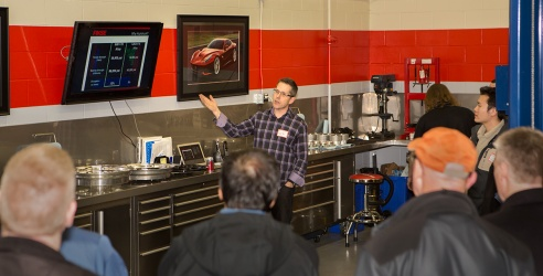Jeff Presenting on Forged Wheels